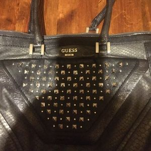 Guess leather studded bag